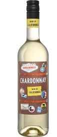 Вино белое сухое «Chardonnay Santa Monica» 2019 г.