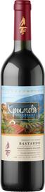 Вино красное полусладкое «Крымовъ Бастардо»