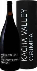 Вино красное сухое «Kacha Valley Cabernet Franc Crimea Satera» 2016 г., в тубе