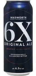 Пиво «Wadworth 6X Original Ale» в железной банке