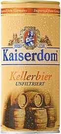 Пиво «Kaiserdom Kellerbier» в жестяной банке