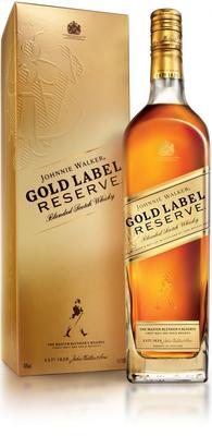 Виски шотландский «Johnnie Walker Gold Label Reserve» в подарочной упаковке