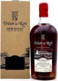 Арманьяк «Tresor des Rois Armagnac 1965» в подарочной упаковке