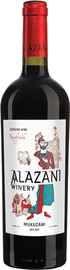 Вино красное сухое «Kakhetia Alazani Winery Mukuzani» 2017 г.