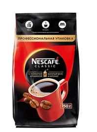 Кофе растворимый «Nescafe Classic» 750 гр., с добавлением молотой арабики