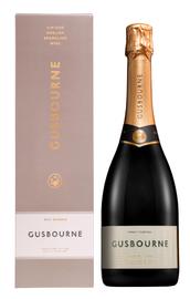 Вино игристое белое брют «Gusbourne Brut Reserve» 2016 г., в подарочной упаковке