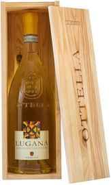 Вино белое сухое «Оттелла Лугана» 2019 г., в подарочной упаковке