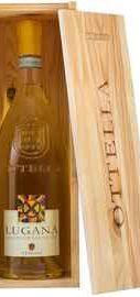 Вино белое сухое «Оттелла Лугана» 2018 г., в подарочной упаковке