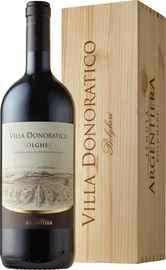 Вино красное сухое «Villa Donoratico» 2018 г., в деревянной подарочной упаковке