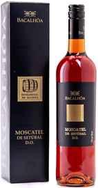 Вино белое сладкое «Moscatel de Setubal» 2016 г., в подарочной упаковке