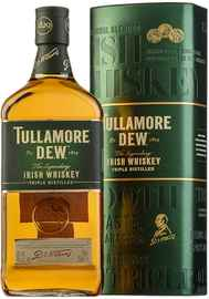 Виски ирландский «Tullamore Dew» в тубе