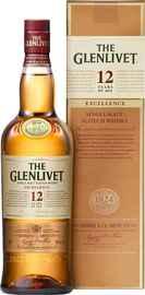 Виски шотландский «Glenlivet 12 Y.O. Excellence» в подарочной упаковке