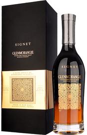 Виски шотландский «Glenmorangie Signet» в подарочной упаковке