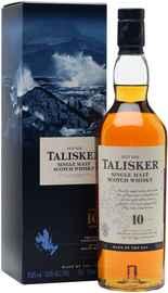 Виски шотландский «Talisker 10 years old» в подарочной упаковке