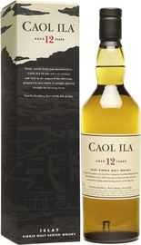 Виски шотландский «Caol Ila 12 years old» в подарочной упаковке