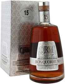 Ром «Quorhum 15 Years Old» в подарочной упаковке