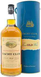 Виски шотландский «Yacht Club» в подарочной упаковке