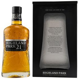 Виски шотландский «Highland Park 21 Years Old» в подарочной упаковке