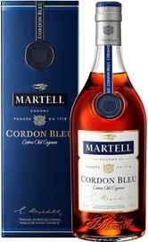 Коньяк французский «Martell Cordon Bleu» в подарочной упаковке