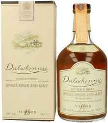 Виски шотландский «Dalwhinnie 15 years old» в подарочной упаковке