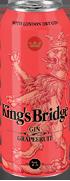Коктейль «King's Bridge Gin & Grapefruit juice»