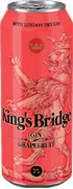 Коктейль «King's Bridge Gin & Grapefruit juice»