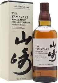 Виски японский «Suntory Yamazaki Distiller's Reserve» в подарочной упаковке