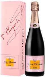 Шампанское розовое брют «Veuve Clicquot Ponsardin Rose» в подарочной упаковке