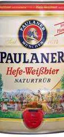 Пиво «Paulaner Hefe-Weissbier» кегля