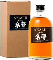 Виски японский «Akashi Meisei» в подарочной упаковке