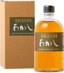 Виски японский «Akashi Single Malt» в подарочной упаковке