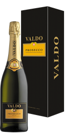 Вино игристое белое сухое «Valdo Prosecco Treviso» в подарочной упаковке