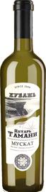 Вино белое полусладкое «Мускат Янтарь Тамани»