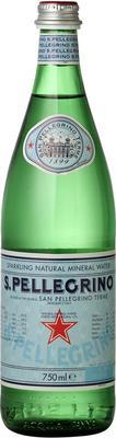 Вода «S. Pellegrino, 0.75 л» в стекле