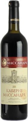 Вино столовое красное полусладкое «Массандра Каберне»