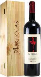 Вино красное сухое «Turriga Isola dei Nuraghi» 2016 г., в деревянной подарочной упаковке