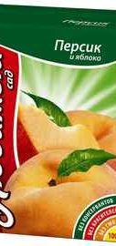 Сок «Любимый сад персик» 0,2 л.