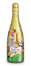 Шампанское детское газированное безалкогольное «Веселые друзья Дюшес»