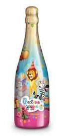 Шампанское детское газированное безалкогольное «Веселые друзья Малина»