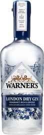 Джин «Warner's London Dry Gin»