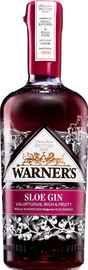 Джин «Warner's Sloe Gin»