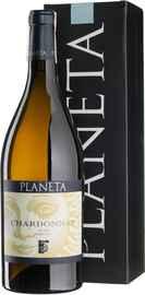Вино белое сухое «Planeta Chardonnay» в подарочной упаковке