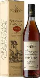 Арманьяк «Castarede Napoleon Armagnac» в подарочной упаковке