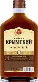 Коньяк российский «Крымский 5 лет, 0.5 л»
