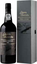 Портвейн сладкий «Quinta da Oliveirinha Porto Vintage» 2016 г., в подарочной упаковке