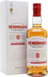 Виски шотландский «Benromach 10 YO» в подарочной упаковке