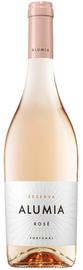 Вино розовое полусухое «Alumia Reserva, 0.75 л» с защищенным наименованием места происхождения