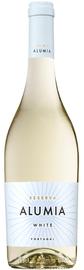 Вино белое полусухое «Alumia Reserve» с защищенным наименованием места происхождения