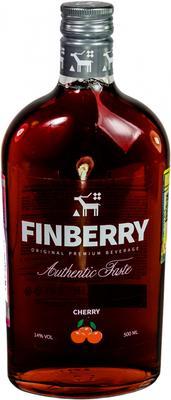 Напиток винный особый сладкий «Finberry Cherry, 0.5 л»