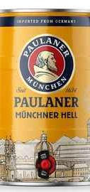 Пиво «Paulaner Munchner Hel» кегля